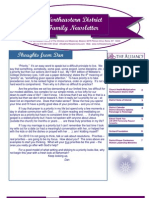 Jan 2010 Family Newsletter, Northeastern District Christian and Missionary Alliance