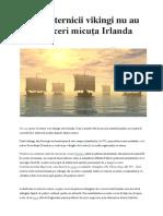 De Ce Puternicii Vikingi Nu Au Putut Cuceri Micuţa Irlanda