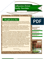 Sep 2010 Family Newsletter, Northeastern District Christian and Missionary Alliance