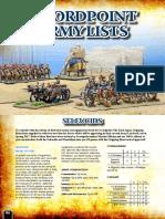 Swordpoint army list