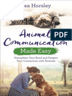 Animal Communication Made Easy - by Pea Horsley