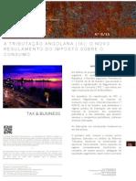 A Tributacao Angolana -IX- O Novo Regulamento Do Imposto Sobre o Consumo1