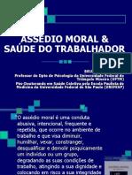 Apresentação Assedio Moral e Saúde do Trabalhador