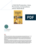 Liquid Rosin and Tall Oil Processing and Formulations