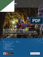 Boletín Estadístico Minero, Peru marzo 2018