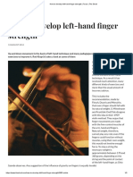 How to Develop Left-hand Finger Strength _ Focus _ the Strad