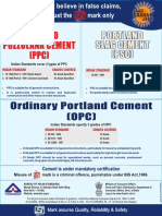 Bureau of Indian Standard (BIS)_OPC 33 Grade-OPC 43 Grade-OPC 53 Grade-PPC-PSC_Use of Cement
