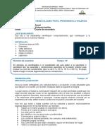 SESION 8  PROMOVIENDO EL BUEN TRATO, PREVENIMOS LA VIOLENCIA.pdf