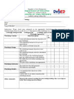 4 Training Evaluation