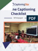 [PDF] Checklist