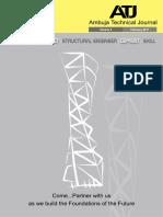 Ambuja Technical Journal Volume 3 on February 2017