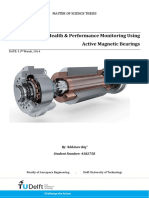 Health & Performance Monitoring Using Active Magnetic Bearings