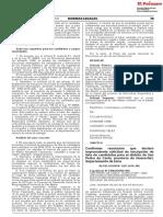 Confirman resolución que declaró improcedente solicitud de inscripción de lista de candidatos para el distrito de San Pedro de Casta provincia de Huarochirí departamento de Lima