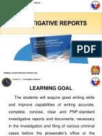 3.7. Investigative Reports.pptx