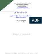 program an scolar