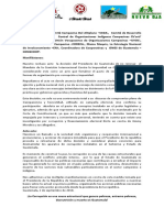 Nuestro rechazo ante  la decisión del Presidente de Guatemala de no renovar  el Mandato de la Comisión Internacional Contra la Impunidad en Guatemala –CICIG-
