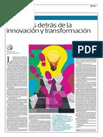 Los Pasos Detras de La Innovación y La Transformación