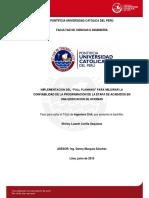 CASO PRÁCTICO DE SECTORIZACIÓN Y TREN DE ACTIVIDADES