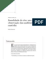 A Banalidade do Réu - Pedro Abramovay