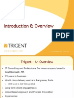 Trigent Corporate Overview