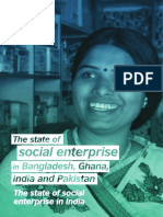 The State of Social Enterprise in India