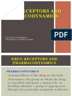 Drug Receptors & Pharmacodynamics