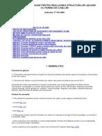 Instrucţiuni Tehnice Pentru Realizarea Structurilor Uşoare Cu Ferme Din Cabluri p110-81