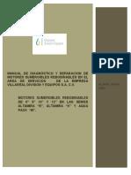 Manual de Diagnostico y Reparacion de Motores Sumbergibles Rebobinables