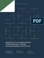 Análisis de las inequidades territoriales a partir de indicadores sintéticos