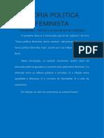 Teoria Política Feminista