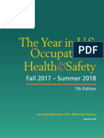 Year in US Occupational Health and Safety Fall 2017-Summer 2018
