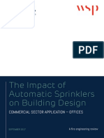 WSP-BSA The Impact of Automatic Sprinklers on Building Design