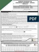 PROVA ANVISA 401 402 e 403 Conhec Basicos Prova b