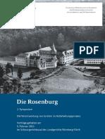 Die Rosenburg 2 Symposium