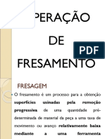 4 USINAGEM FRESAMENTO