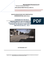 Declaracion de Impacto Ambiental El Bosque