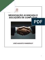 APOSTILA - NEGOCIAÇÃO AVANÇADA E SOLUÇÕES DE CONFLITOS - PARTE I