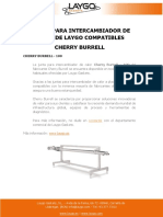 JUNTAS PARA INTERCAMBIADOR DE CALOR DE LAYGO COMPATIBLES CHERRY BURRELL