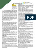Edital Contrato Temporário SEDF