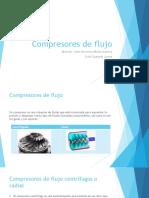 Compresores de Flujo 1.0