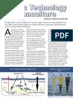 Biofloc Technology Aquaculture