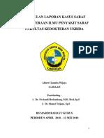 Kumpulan Laporan Kasus Saraf Kepaniteraan Ilmu Penyakit Saraf Fakultas Kedokteran Ukrida