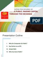 IPO Raising Capital