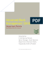 Advanced Bank Management- Module A