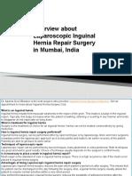 Overview About Laparoscopic Inguinal Hernia Repair Surgery in Mumbai, India