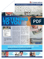 Conor Burns MP Annual Report 2018