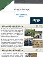 Proyecto Mecanismos 2018-II