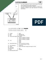 FG VIN Codes