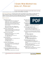 The Best Web Marketing Checklist.pdf