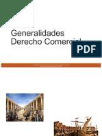 1. Generalidades Derecho Comercial
